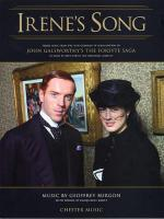 Burgon: Theme From 'The Forsyte Saga' Irene's Song Sheet Music