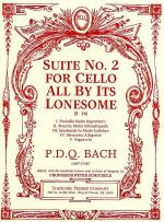 Suite No. 2 for Cello All by Its Lonesome Sheet Music