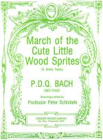 March of the Cute Little Wood Sprites Sheet Music