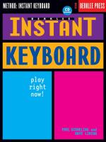 Instant Keyboard Sheet Music