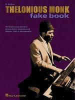 Thelonious Monk Fake Book E Flat Edition Sheet Music