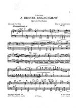 A Dinner Engagement Op.45 (Vocal Score) Sheet Music