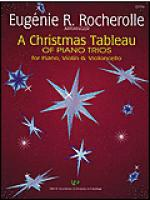 A Christmas Tableau of Piano Trios Sheet Music