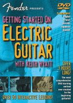 Fender Presents: Getting Started On Electric Guitar (DVD) Sheet Music