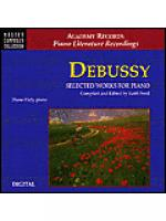Debussy Selected Works For Piano/CD Sheet Music