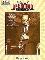 The Paul Desmond Collection Artist Transcriptions Sheet Music