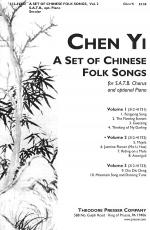 A Set of Chinese Folk Songs (Volume 2) Sheet Music