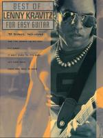 Best Of Lenny Kravitz For Easy Guitar Sheet Music