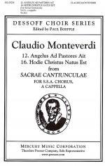 12. Angelus Ad Pastores Ait & 16. Hodie Christus Natus Est Sheet Music