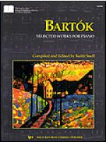Bartok - Selected Works For Piano Sheet Music