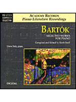 Bartok-Selected Works For Piano (CD) Sheet Music