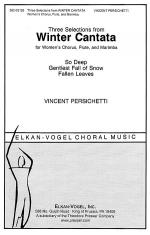 Three Selections from Winter Cantata Sheet Music