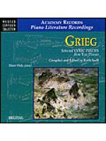 Grieg Selected Lyric Pieces For Piano-CD Sheet Music