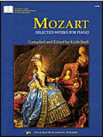 Mozart Selected Works For Piano Sheet Music