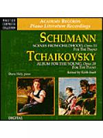 Schumann Scenes & Tchaikovsky Album (CD) Sheet Music