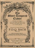The Short-Tempered Clavier Sheet Music
