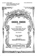 Knock, Knock Sheet Music