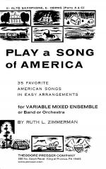 Play A Song of America Sheet Music