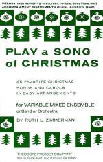 Play A Song of Christmas - 35 Favorite Christmas Songs and Carols in Easy Arrangements Sheet Music