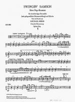 Swingin' Samson (Drum Part) Sheet Music