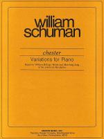Chester Variations for Piano Sheet Music