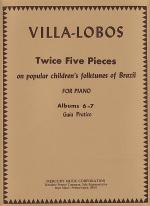 Twice Five Pieces On Popular Children's Folktunes of Brazil Sheet Music
