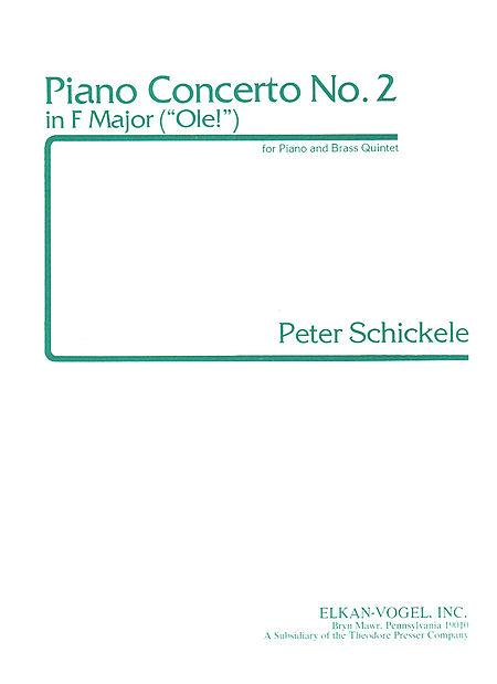 Piano Concerto No.2 in F Major Sheet Music