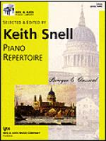 Neil A. Kjos Piano Library-Piano Repertoire: Baroque/Classical Level 9 Sheet Music