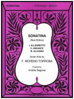 Sonatina Sheet Music