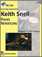 Neil A. Kjos Piano Library-Piano Repertoire: Romantic-20th Century Level 4 Sheet Music