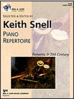 Neil A. Kjos Piano Library-Piano Repertoire: Romantic-20th Century Level 8 Sheet Music
