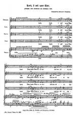 Lord I Call Upon Thee Sheet Music