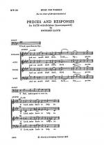 Hereford Responses Sheet Music