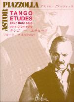 Tango-Etudes pour Flute seule (for Flute Solo) Sheet Music