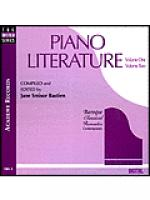 Piano Literature, Volume 1 & 2 (CD) Sheet Music