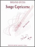 Songe Capricorne Sheet Music
