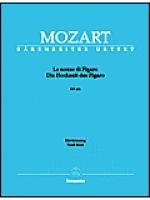 Le nozze di Figaro - Die Hochzeit des Figaro Sheet Music