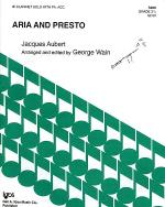 Aria and Presto Sheet Music