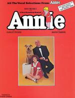 Annie Vocal Selections Broadway Sheet Music