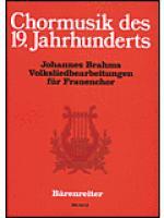 Volksliedbearbeitungen fur Frauenchor Sheet Music