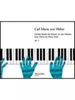 Leichte Stucke fur Klavier zu vier Handen op. 3 Sheet Music