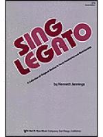 Sing Legato Sheet Music