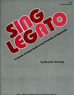 Sing Legato - Accompaniment Edition Sheet Music