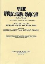 Richard Adler and  The Pajama Game (Libretto) Sheet Music