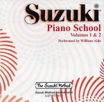 Suzuki Piano School Volumes 1&2 Cd (Aide) Sheet Music