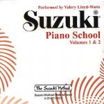 Suzuki Piano School Vol.1/Vol.2 (Valery Lloyd-Watts) CD Sheet Music