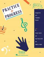 Practice & Progress Lesson Notebook Sheet Music