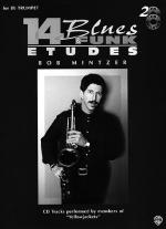 Bob Mintzer: 14 Blues And Funk Etudes Sheet Music