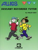 Aulos Descant Recorder Tutor Sheet Music