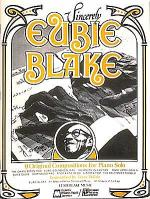 Sincerely Eubie Blake Sheet Music